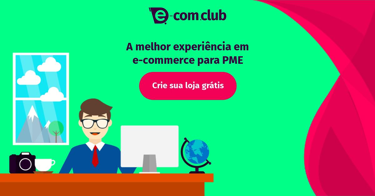 df6be8044 Montar ou Criar Loja Virtual Grátis - Plataforma E-Com Club
